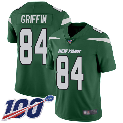 New York Jets Limited Green Youth Ryan Griffin Home Jersey NFL Football 84 100th Season Vapor Untouchable