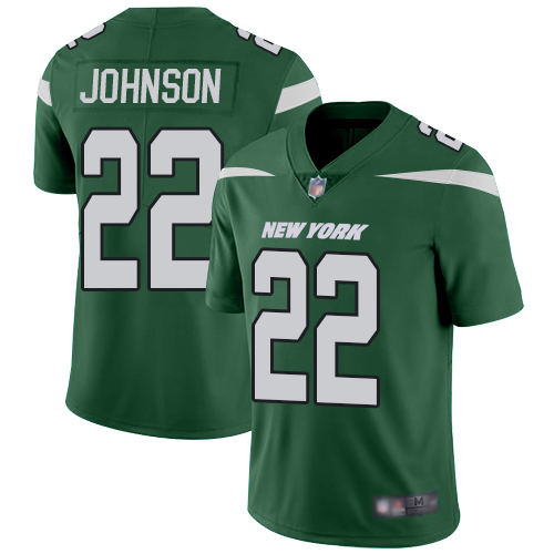 New York Jets Limited Green Youth Trumaine Johnson Home Jersey NFL Football 22 Vapor Untouchable