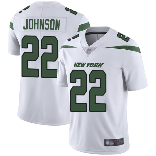 New York Jets Limited White Men Trumaine Johnson Road Jersey NFL Football 22 Vapor Untouchable