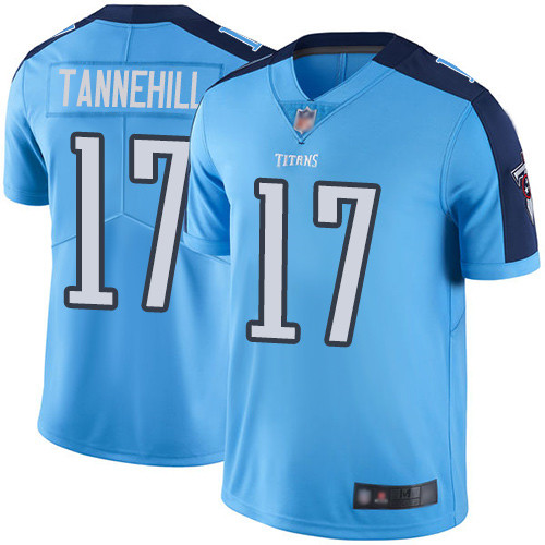 Tennessee Titans Limited Light Blue Men Ryan Tannehill Jersey NFL Football 17 Rush Vapor Untouchable