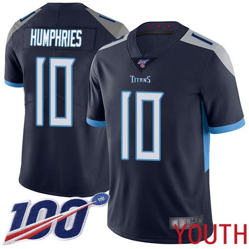 Tennessee Titans Limited Navy Blue Youth Adam Humphries Home Jersey NFL Football 10 100th Season Vapor Untouchable