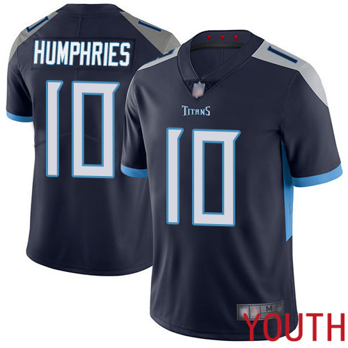 Tennessee Titans Limited Navy Blue Youth Adam Humphries Home Jersey NFL Football 10 Vapor Untouchable