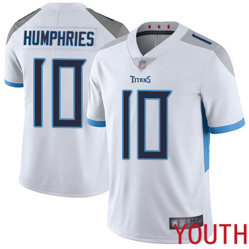 Tennessee Titans Limited White Youth Adam Humphries Road Jersey NFL Football 10 Vapor Untouchable