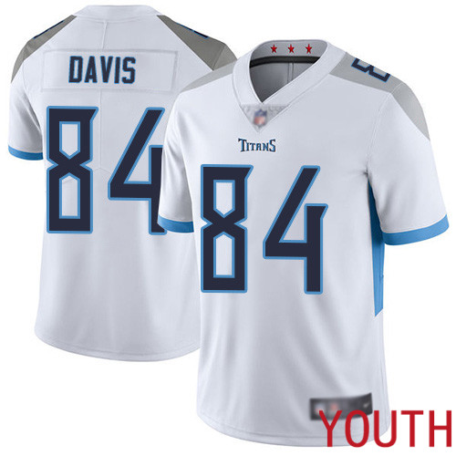 Tennessee Titans Limited White Youth Corey Davis Road Jersey NFL Football 84 Vapor Untouchable