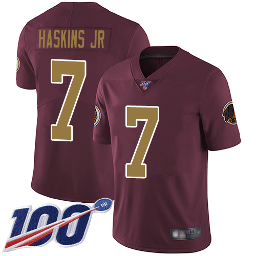 Washington Redskins Limited Burgundy Red Men Dwayne Haskins Alternate Jersey NFL Football 7