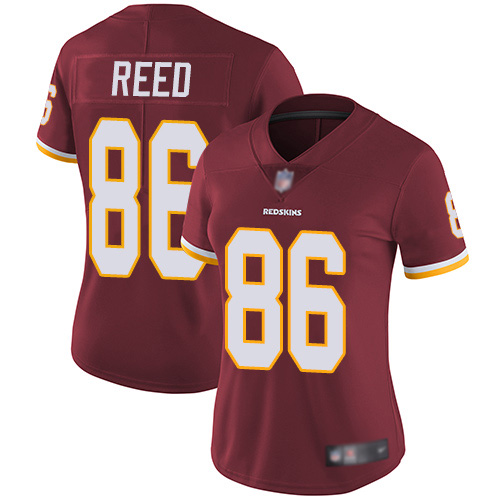 Washington Redskins Limited Burgundy Red Women Jordan Reed Home Jersey NFL Football 86 Vapor