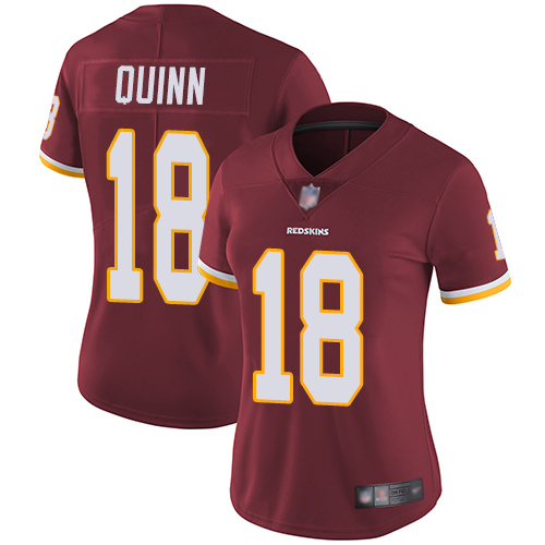 Washington Redskins Limited Burgundy Red Women Trey Quinn Home Jersey NFL Football 18 Vapor