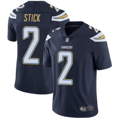 Los Angeles Chargers NFL Football Easton Stick Navy Blue Jersey Men Limited 2 Home Vapor Untouchable