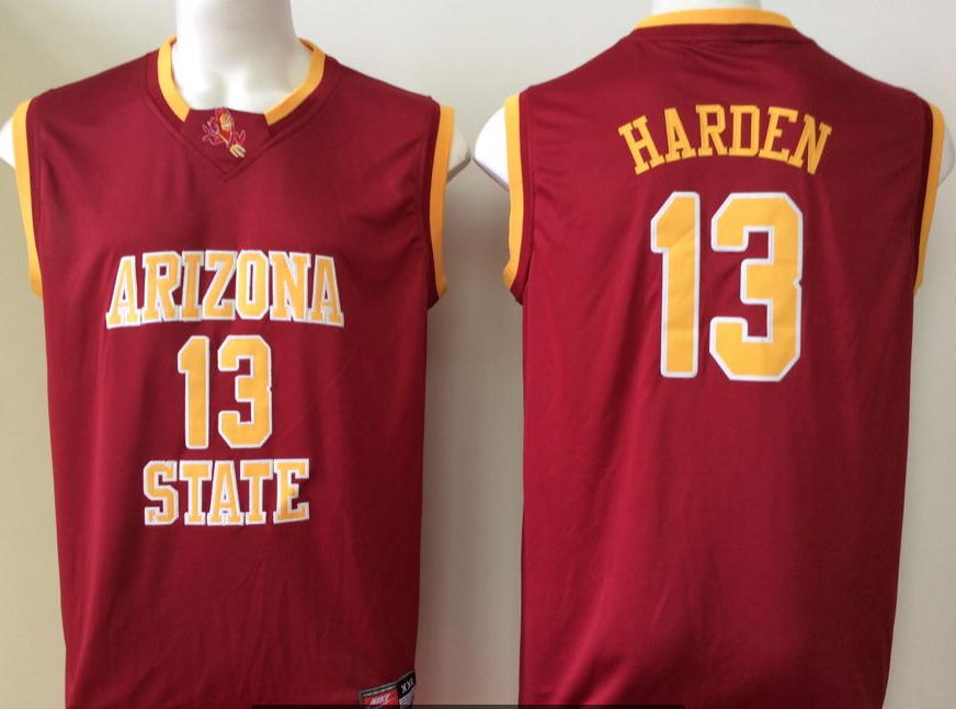 NCAA Men Arizona State Sun Devils Red 13