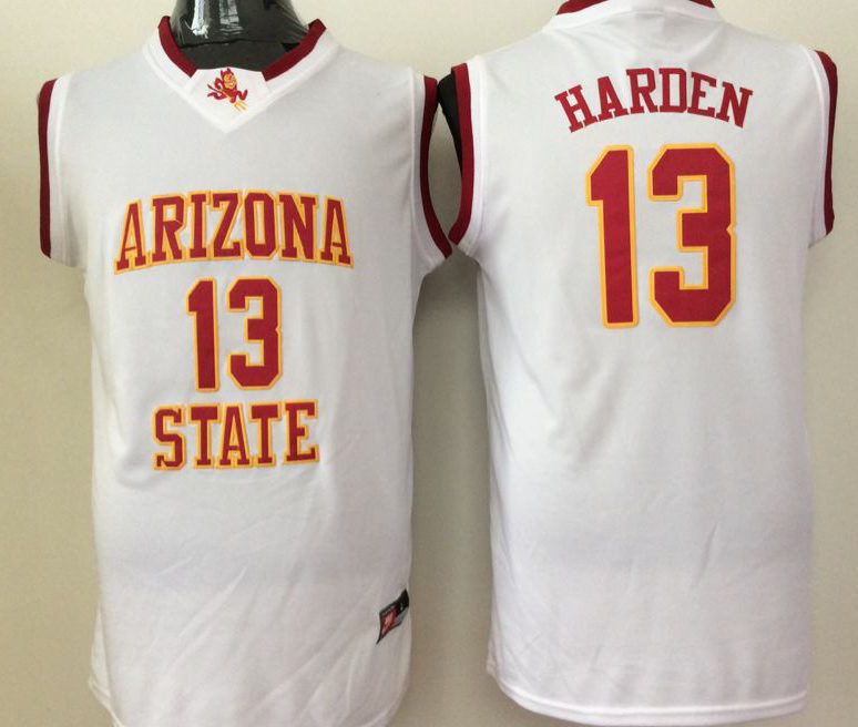 NCAA Men Arizona State Sun Devils White 13