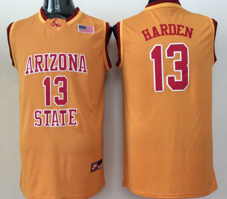 NCAA Men Arizona State Sun Devils YELLOW 13