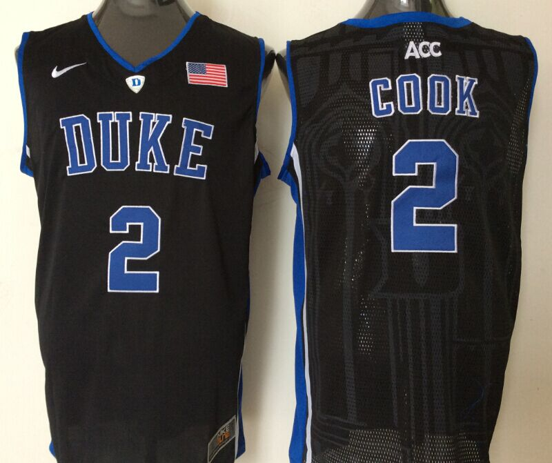 NCAA Men Duke Blue Devils 2 cook black