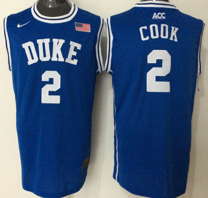 NCAA Men Duke Blue Devils 2 cook blue
