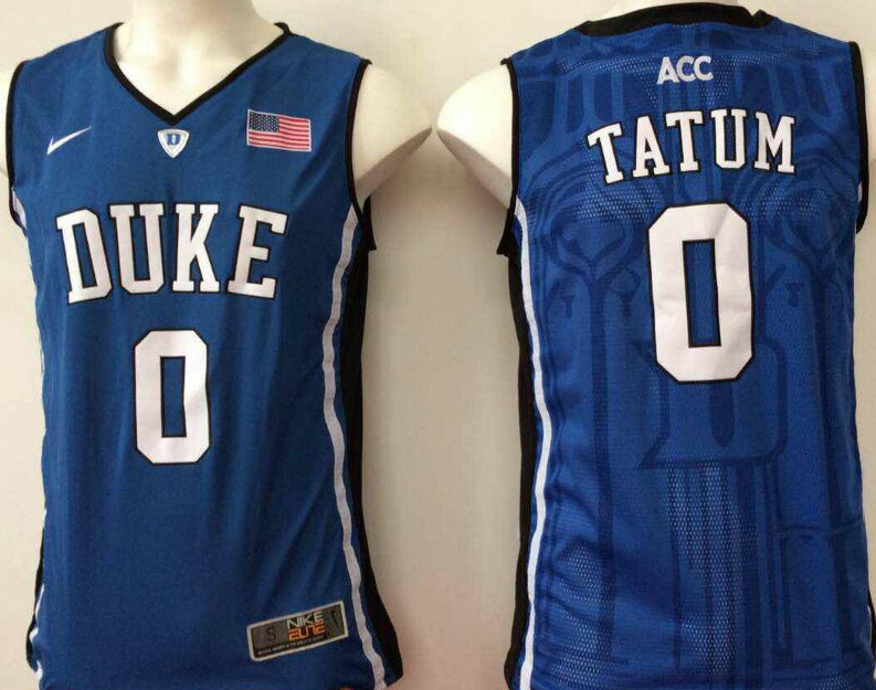 NCAA Men Duke Blue Devils Blue 0 tatum