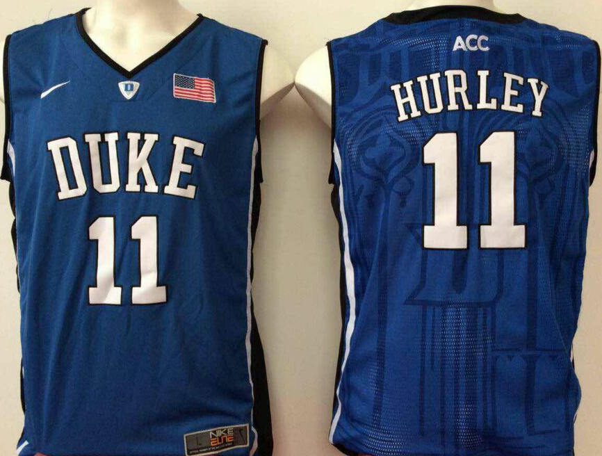 NCAA Men Duke Blue Devils Blue 11 hurley blue