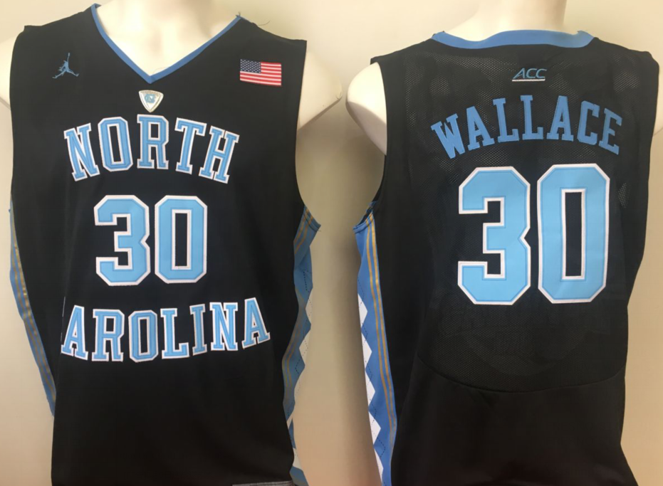 NCAA Men North Carolina Tar Heels Black 30