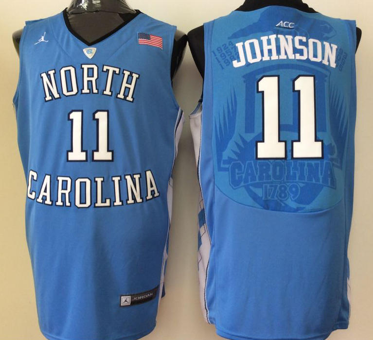 NCAA Men North Carolina Tar Heels Blue 11