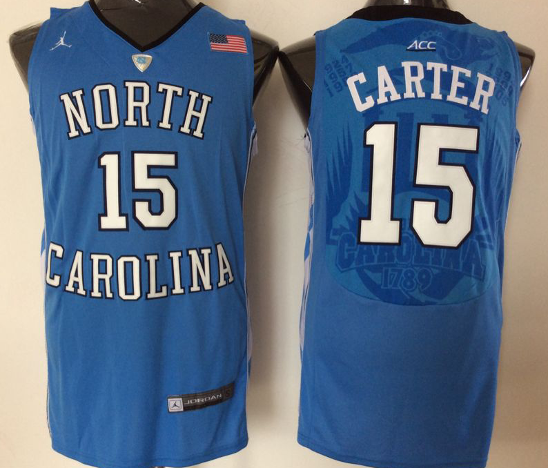 NCAA Men North Carolina Tar Heels Blue 15