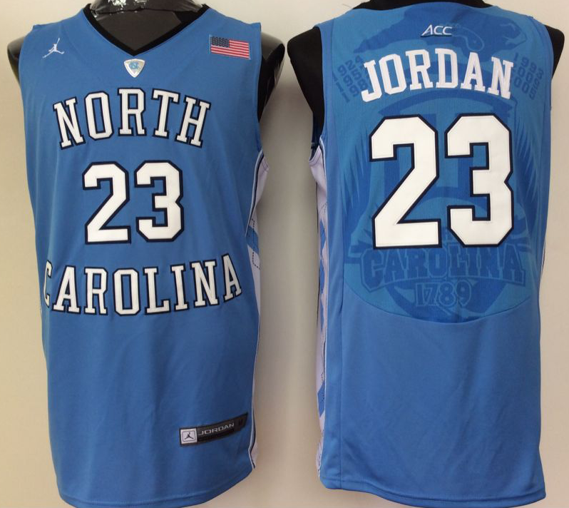 NCAA Men North Carolina Tar Heels Blue 23