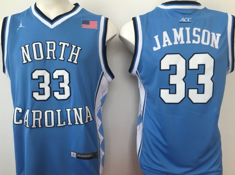 NCAA Men North Carolina Tar Heels Blue 33