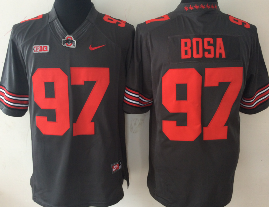 NCAA Men Ohio State Buckeyes GRAY Limited 97 BOSA