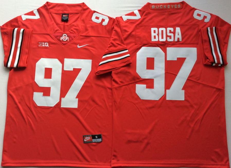 NCAA Men Ohio State Buckeyes Red 97 BOSA