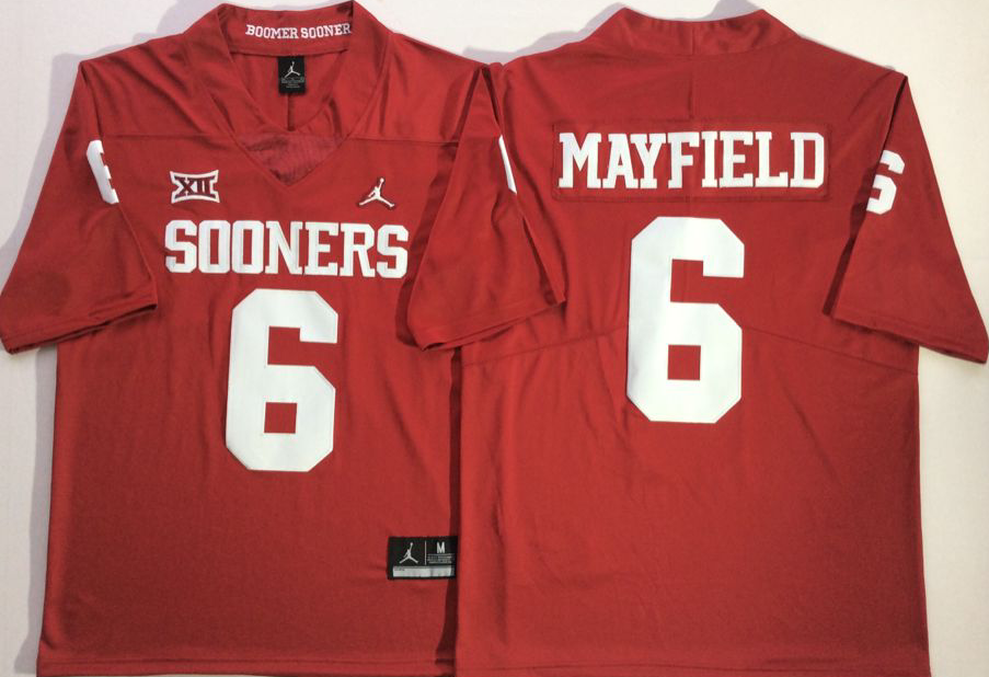 NCAA Men Oklahoma Sooners 6 MAYFIELD