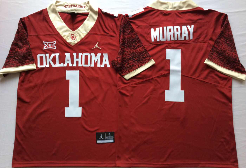NCAA Men Oklahoma Sooners Red Limited 1 MURRAY