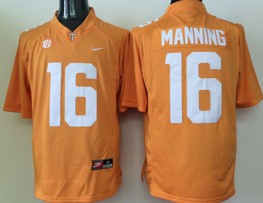 NCAA Men Tennessee Volunteers Orange 16
