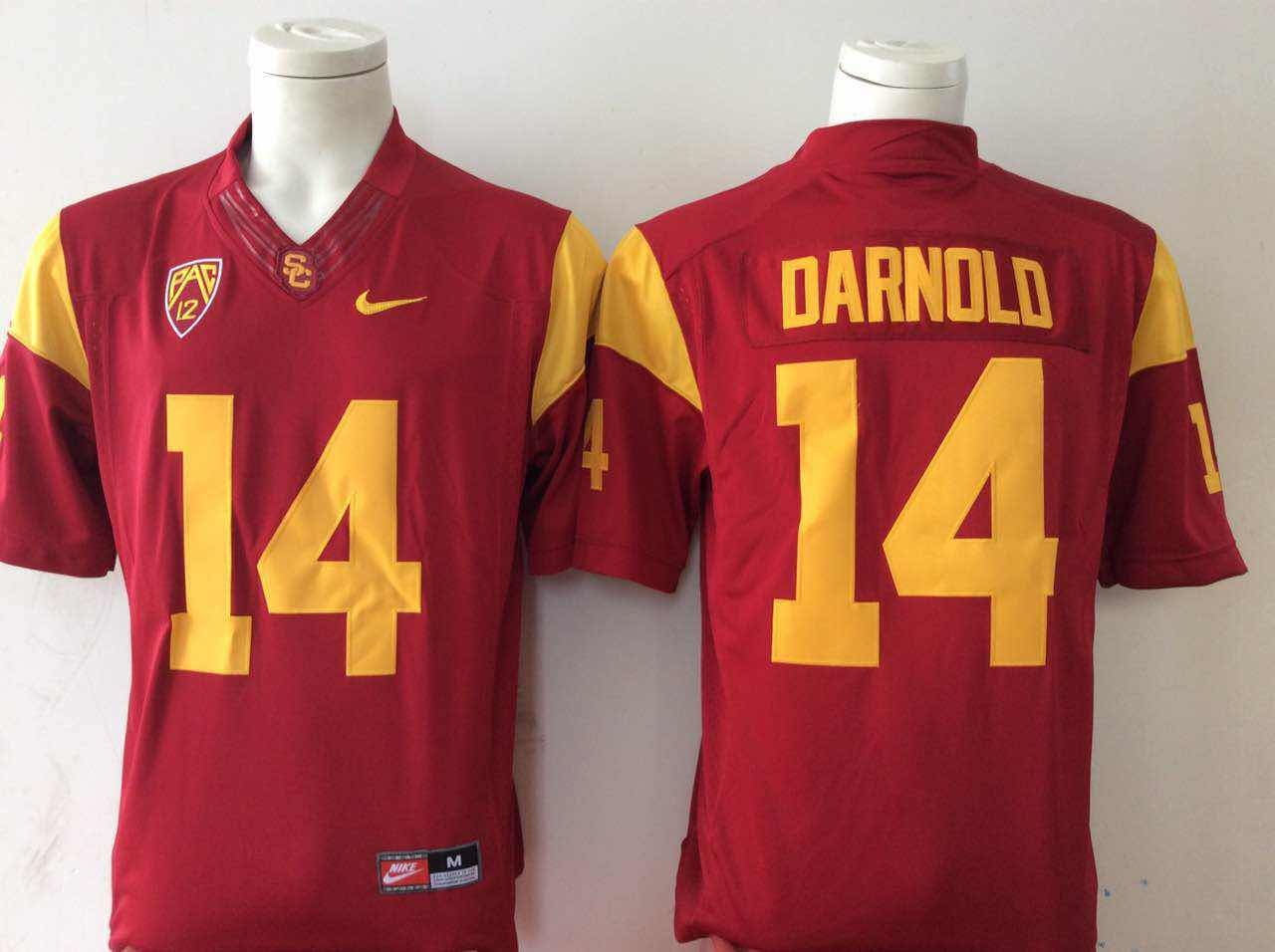NCAA Men USC Trojans 14 Red