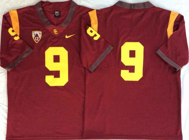 NCAA Men USC Trojans Red 9