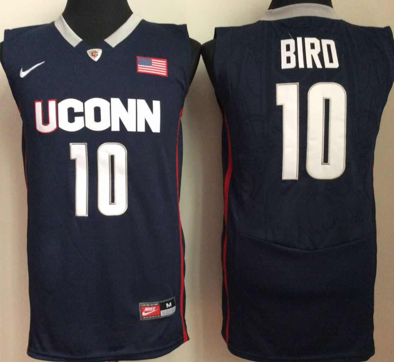 NCAA Men Uconn Huskies 10 bird Blue