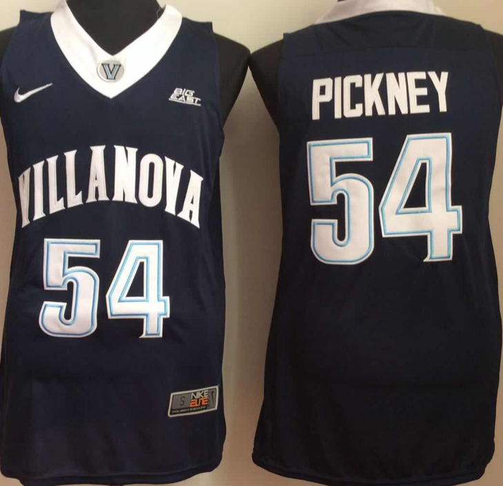 NCAA Men Villanova Wildcats Blue 54 pickney
