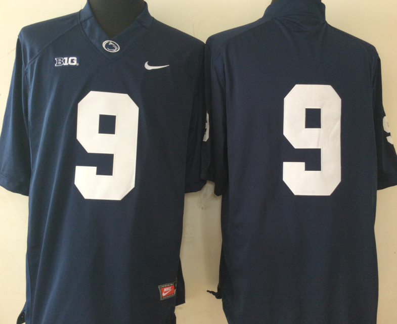 NCAA Youth Penn State Nittany Lions Blue 9 MCSORLEY blank jerseys