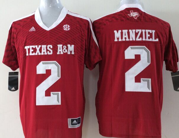 NCAA Youth Texas A M Aggies Red 2 Manziel jerseys