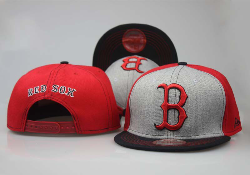 MLB Boston Red Sox Snapback hat LTMY02292