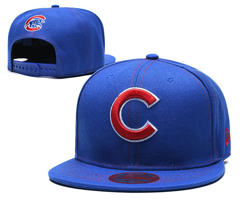 MLB Chicago Cubs Snapback hat LTMY0229