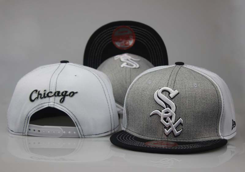 MLB Chicago White Sox Snapback hat LTMY02291