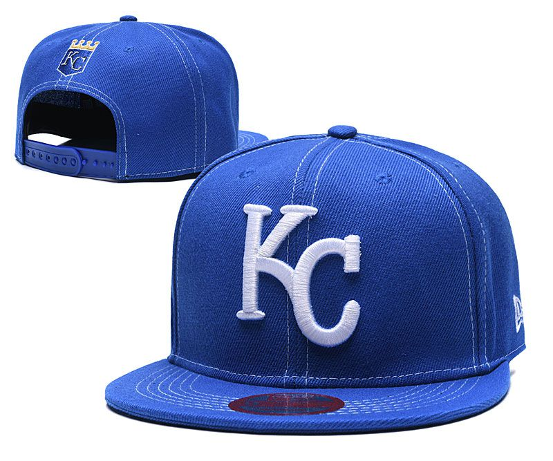 MLB Kansas City Royals Snapback hat LTMY0229