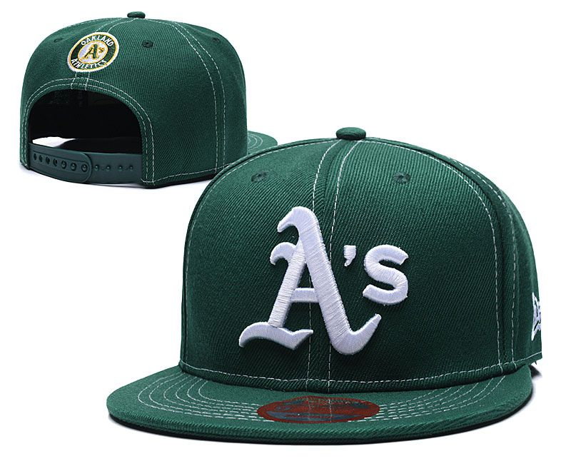 MLB Oakland Athletics Snapback hat LTMY0229