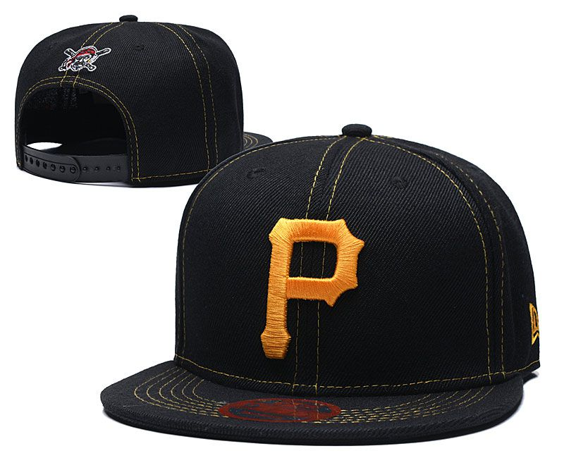 MLB Pittsburgh Pirates Snapback hat LTMY0229