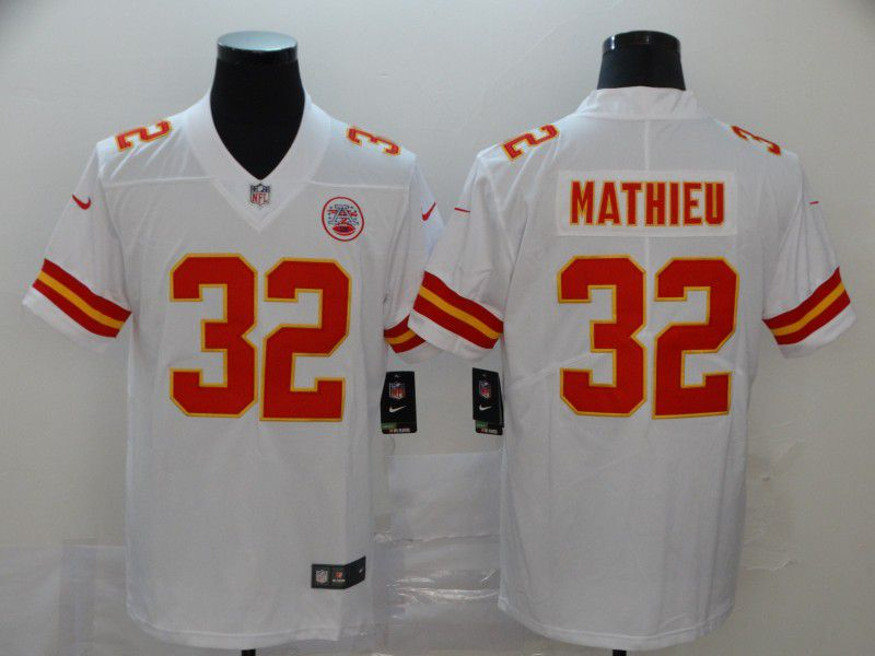 Men Kansas City Chiefs 32 Mathieu White Nike Vapor Untouchable Limited NFL Jersey