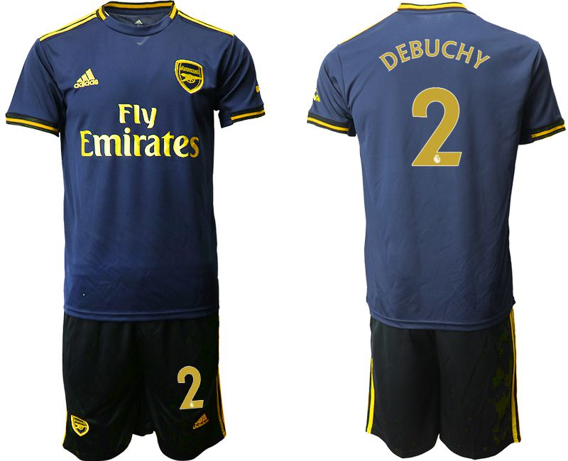 Men 2019-2020 club Arsenal away 2 blue Soccer Jerseys