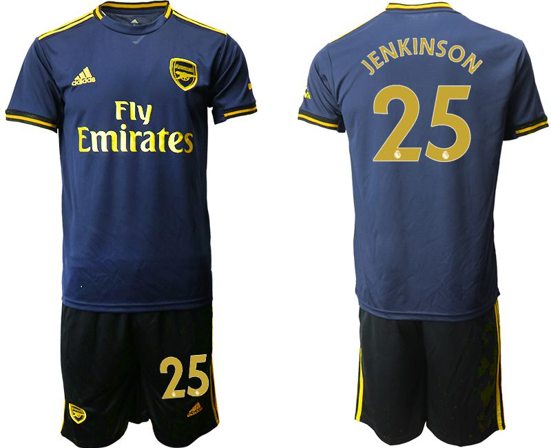 Men 2019-2020 club Arsenal away 25 blue Soccer Jerseys