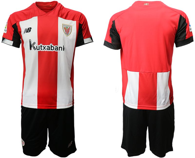Men 2019-2020 club Athletic Bilbao home red Soccer Jerseys