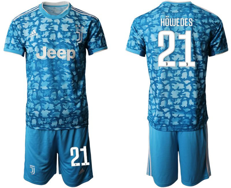 Men 2019-2020 club Juventus FC away 21 blue Soccer Jerseys