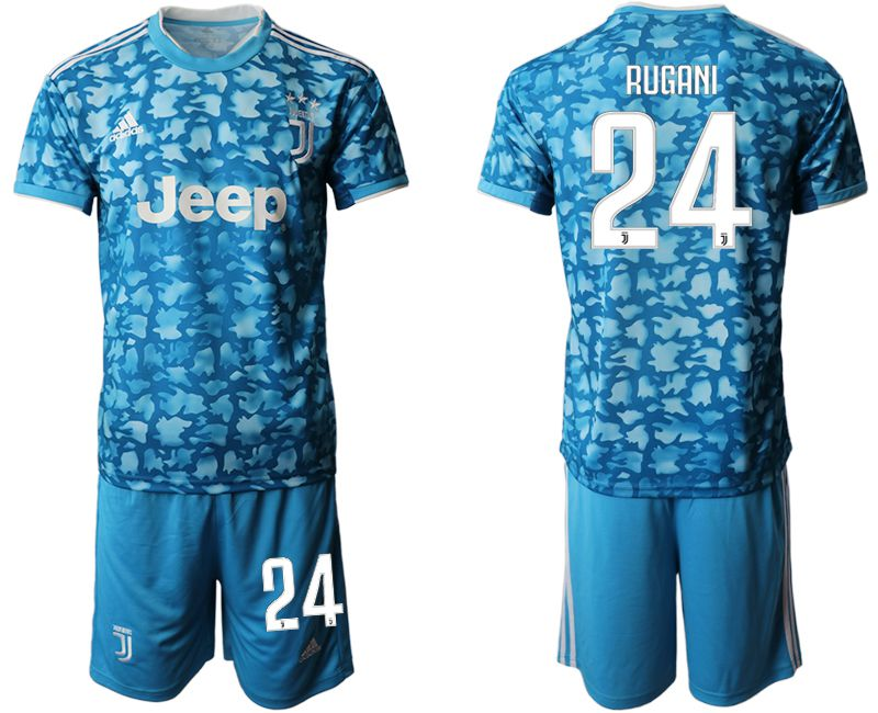 Men 2019-2020 club Juventus FC away 24 blue Soccer Jerseys