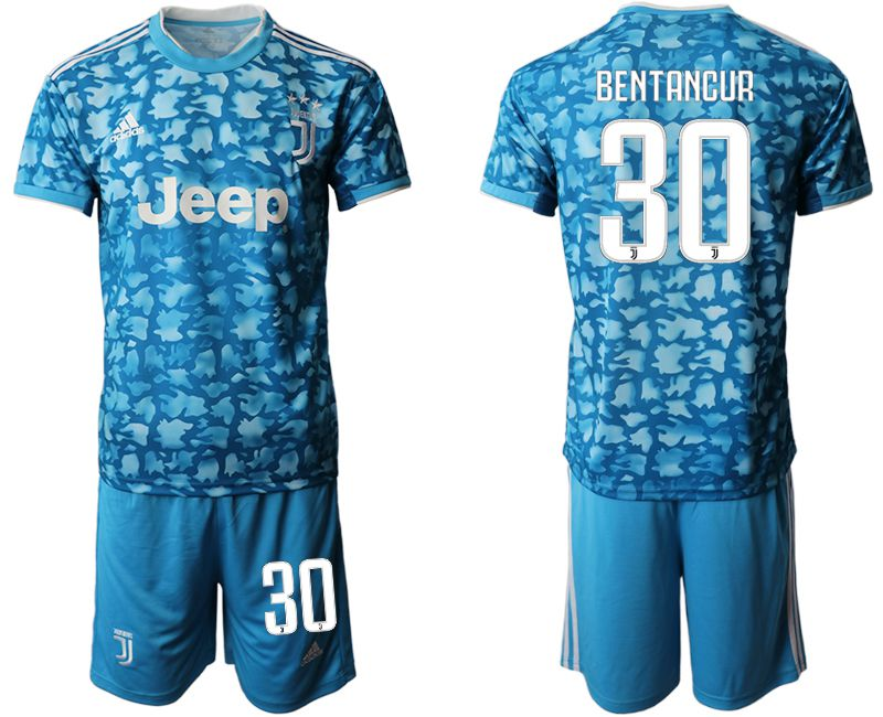 Men 2019-2020 club Juventus FC away 30 blue Soccer Jerseys