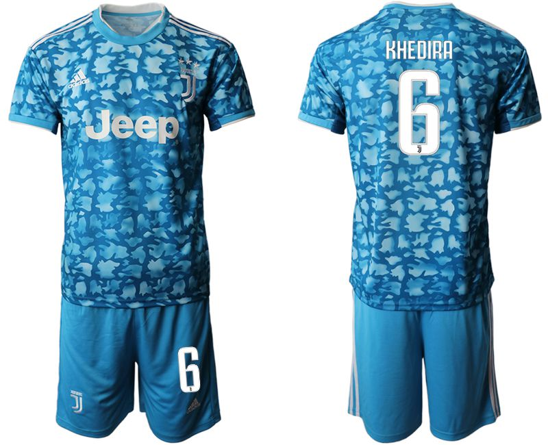 Men 2019-2020 club Juventus FC away 6 blue Soccer Jerseys
