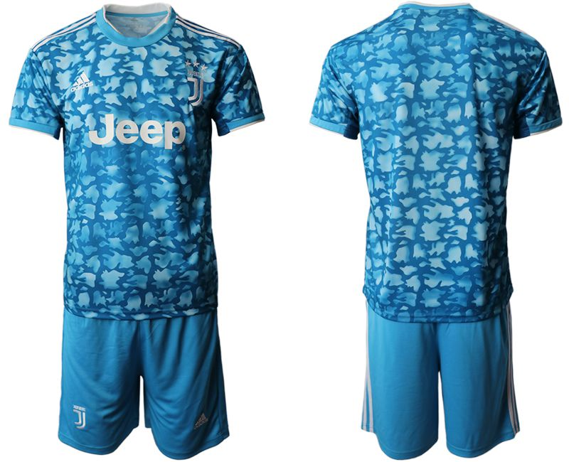 Men 2019-2020 club Juventus FC away blue Soccer Jerseys